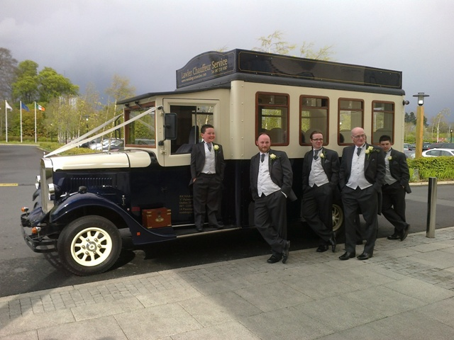Wedding Cars Dublin Ireland Book Online Vintage And Buses