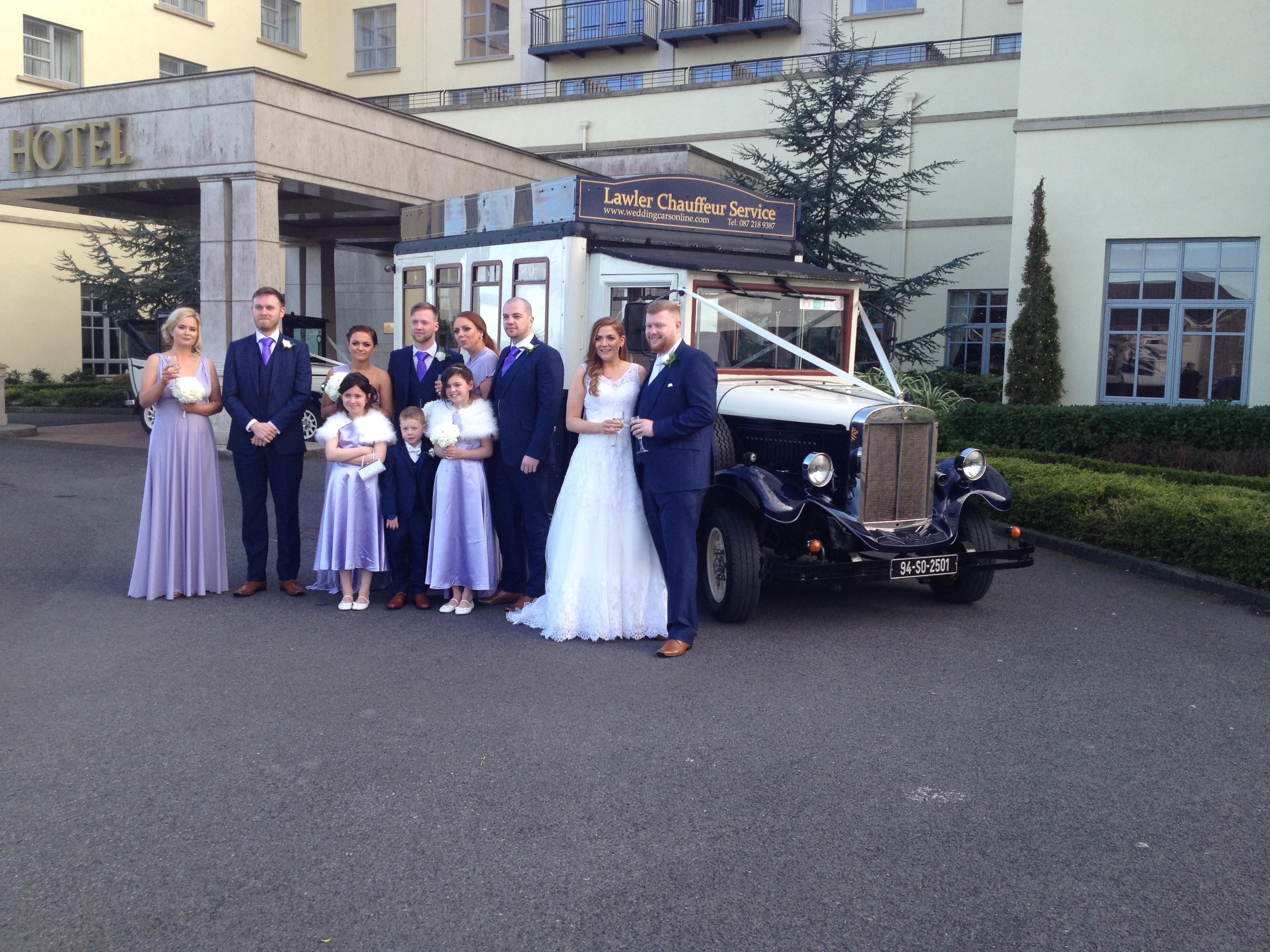 Asquith Palace (14 seater) Vintage Bus - Wedding Cars Dublin Ireland ...